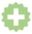 create halftone icon vector image
