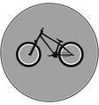 dirt street sport bicycle vector image
