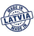 made in Latvia vector image vector image