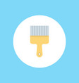 paint brush icon sign symbol vector image