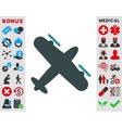 Screw Aeroplane Icon vector image