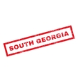 South Georgia Rubber Stamp vector image vector image