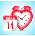 Valentines Day Date Concept vector image vector image