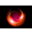 abstract circle dark red vector image vector image