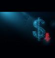 coronavirus impact global economy stock markets vector image vector image