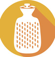 Hot Water Bottle Icon vector image