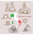 Italy Sketches vector image vector image