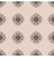 Seamless Damask wallpapern vector image