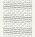 seamless pattern geometric grid vector image vector image