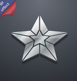 Star icon symbol 3D style Trendy modern design vector image