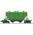 Train wagon vector image vector image