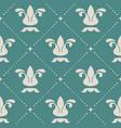floral royal vintage background pattern vector image