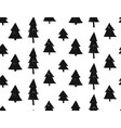 seamless christmas pattern with snowflakes and vector image