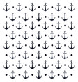 background anchor nautical design vector image vector image