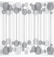 Grey wine glass vector image vector image