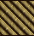 halftone 3d gold seamless pattern textured vector image