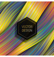holographic layer background with hexagonal black