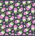 mochi seamless pattern vector image vector image