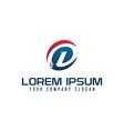 modern letter d logo tech design concept template vector image vector image