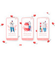 pharmacy store sale pills mobile app page vector image