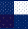 seamless maritime pattern with sailboat vector image vector image