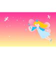 Dreamy fairy vector image