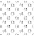 bread wheat pattern seamless vector image