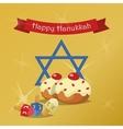 Hanukkah Typography Design vector image vector image