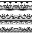 Indian seamless pattern design elements - Mehndi vector image vector image