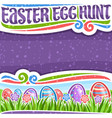 Poster for easter egg hunt