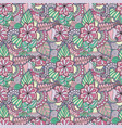 seamless pattern bright fashionable vector image vector image