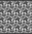 square pattern background - abstract gray vector image vector image