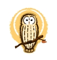 Barred Owl vector image
