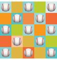 Baseball Pattern Background vector image vector image
