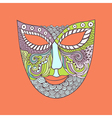 carnival mask mask stylization vector image
