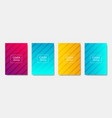 colorful modern template design for web halftone vector image vector image