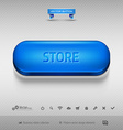 design elements as business web buttons for vector image vector image
