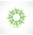 Eco icon vector image vector image