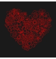Heart shape vector image