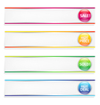 Retail Banners vector image vector image