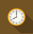 Clock Face Royalty Free Vector Image Vectorstock