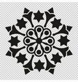 russian star mandala vector image