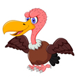cute Vulture cartoon vector image vector image
