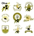 Extra virgin olive oil labels Design element for vector image vector image