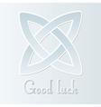 Good luck vector image