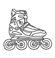 Inline Skater vector image vector image