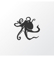 octopus icon symbol premium quality isolated vector image