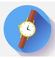 Wrist watches Smart Clock icon vector image vector image
