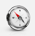 realistic compass vector image