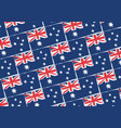 abstract australian flag or banner vector image vector image